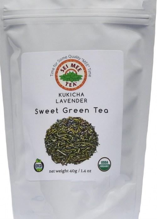 Kukicha Lavender Sweet Green Tea