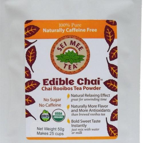 Edible Chai Rooibos Powder 25 cup