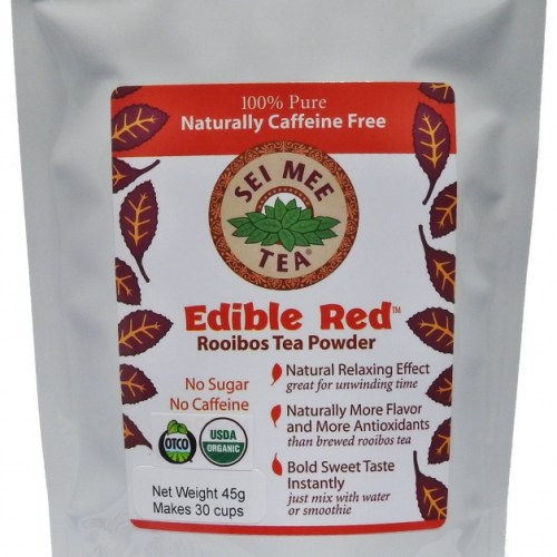 Edible Red Rooibos Powder 30 cup
