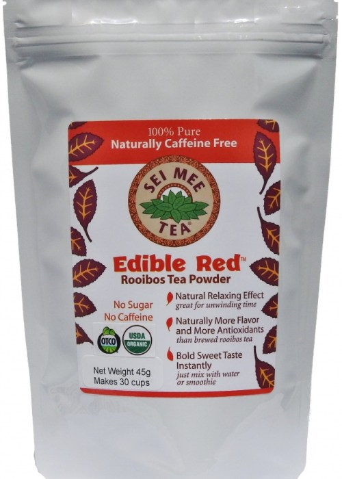 Rooibos Powder, Organic Edible Red - 30 cup