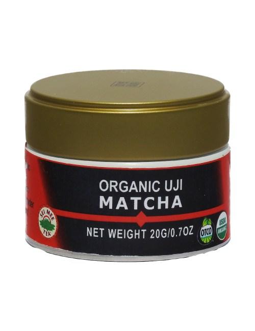 organic uji matcha tin