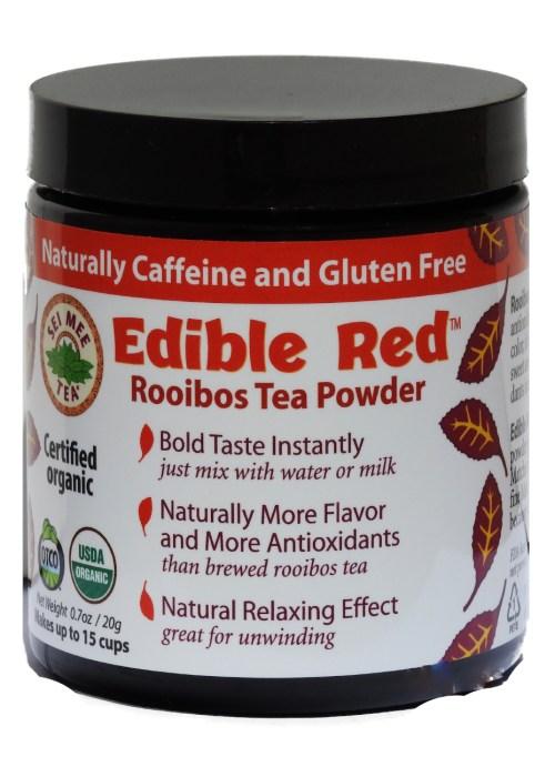 Rooibos Powder, Organic Edible Red - 15 cup