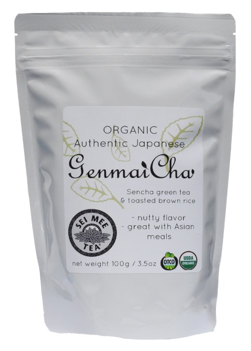 Genmaicha Loose Leaf Tea, Organic