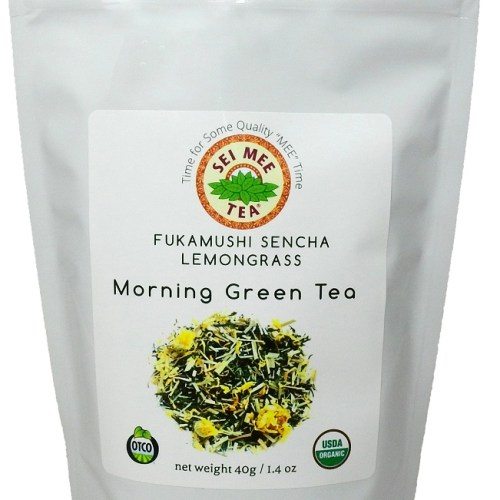 Fukamushi Sencha Lemongrass Morning Green Tea