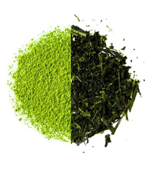 powder vs. leaf