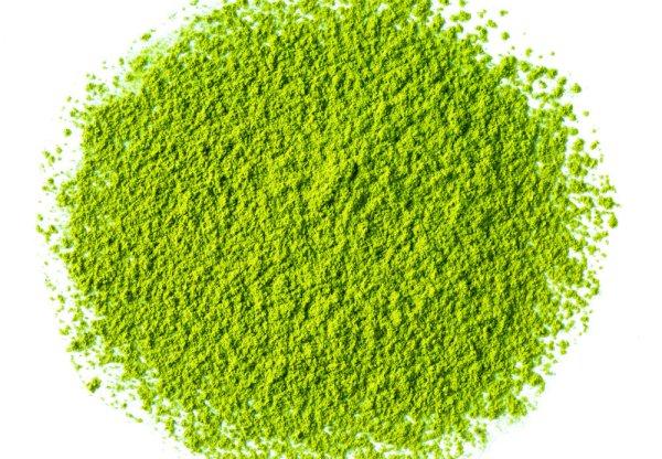 ground green tea