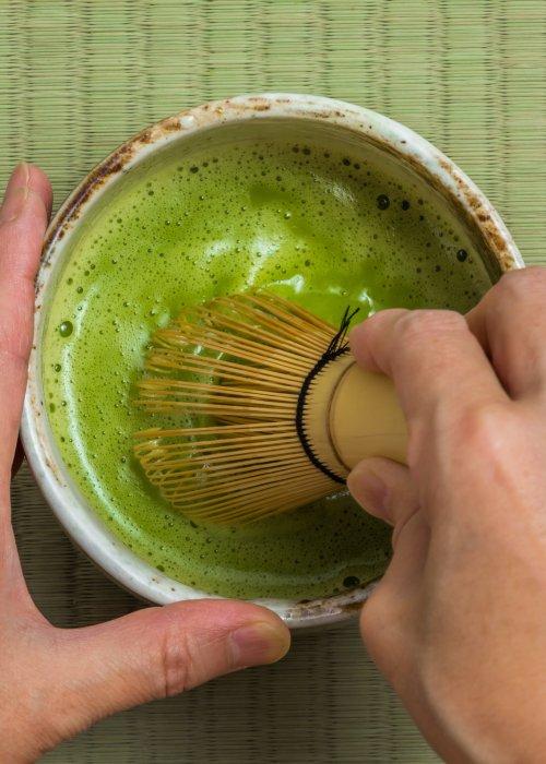 GREEN TEA TASTING AND TEA CEREMONY