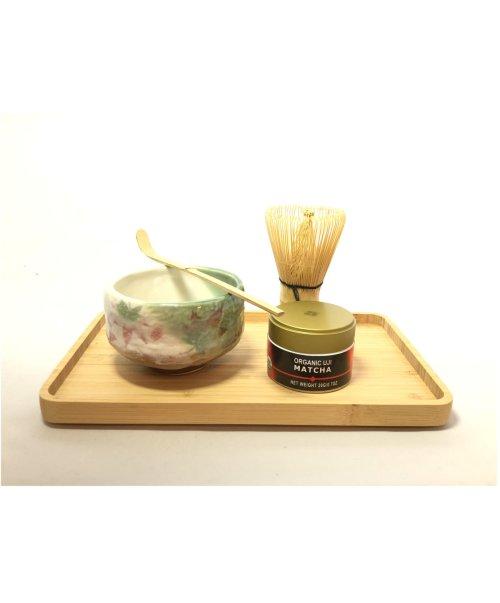 tea ceremony set maple