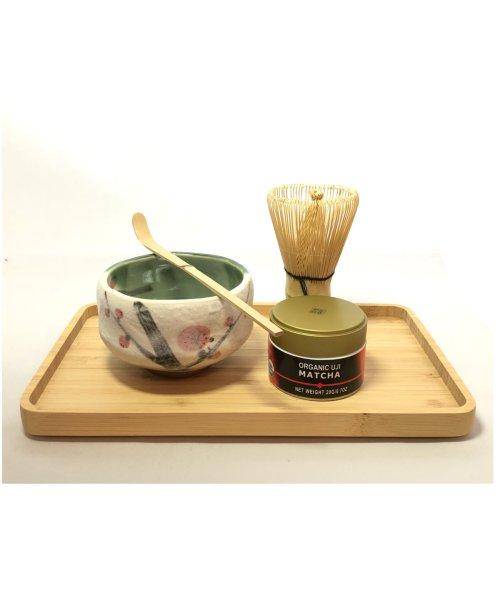 tea ceremony set plum
