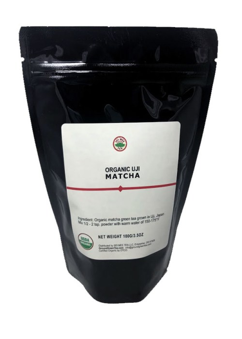 Highest Grade Ceremonial Matcha, Organic - 100g