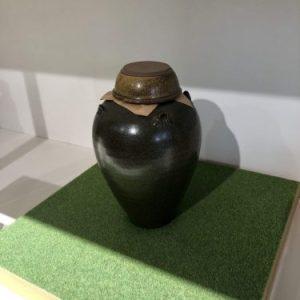 Pot to mature vinegar