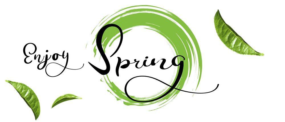 Enjoy healthy spring