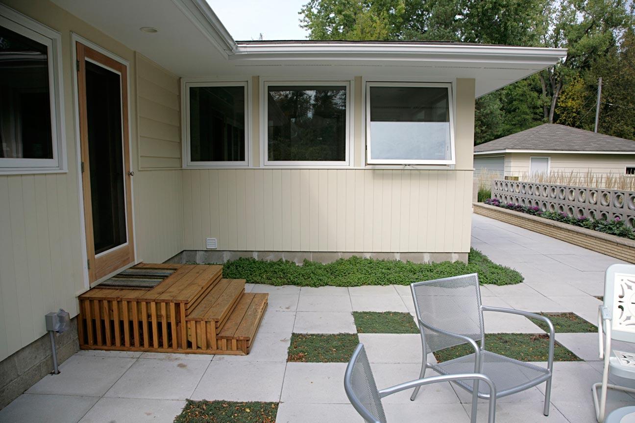 Mid Century Modern Patio | Ground One on Mid Century Patio Design  id=66569