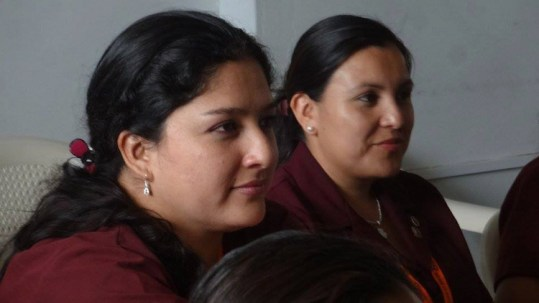 Working WITH women FOR women. Way to go, Peru