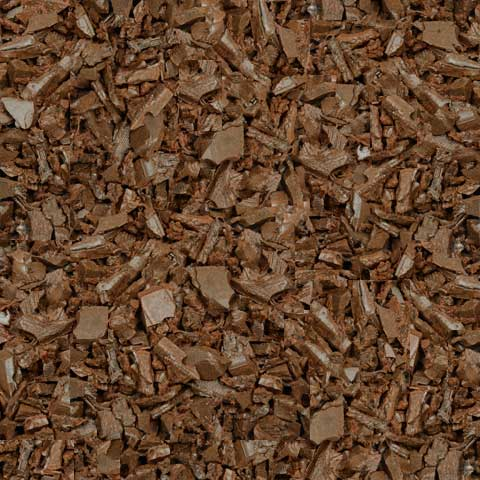 Red Rubber Mulch Color Product Swatch