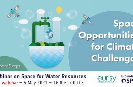 Webinar on Space for Water Resources