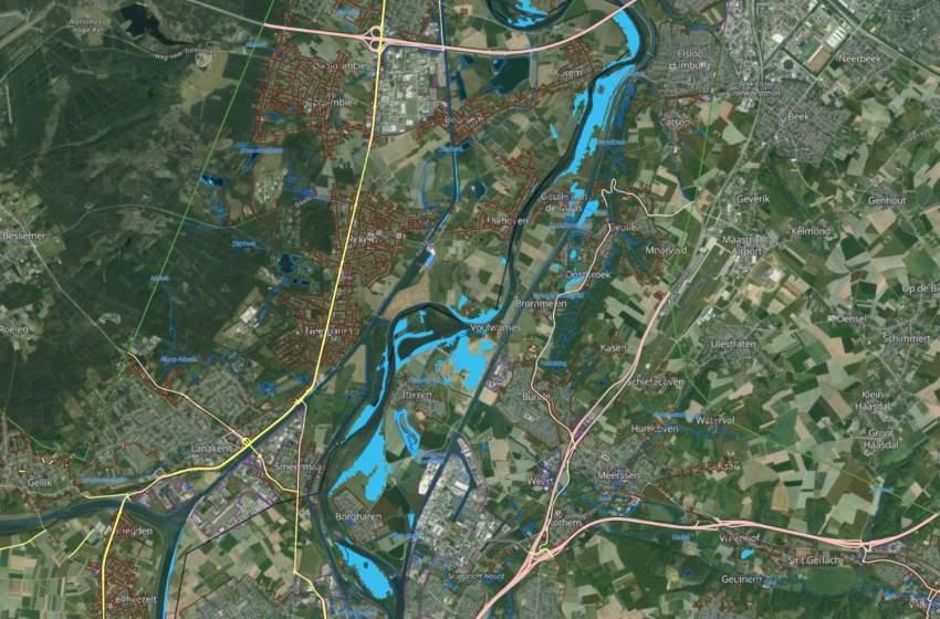 Copernicus Emergency Management Service activated for Dutch floods