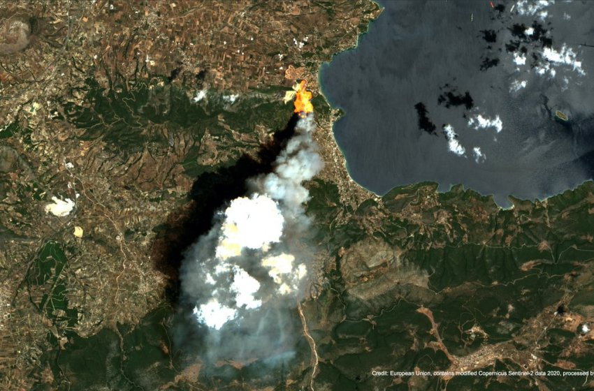 Tracking Wildfires from Space