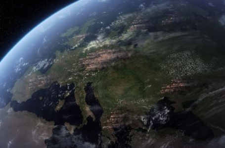 Wildfires in Europe from Space