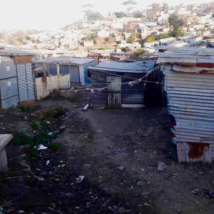 Photo of an informal settlement