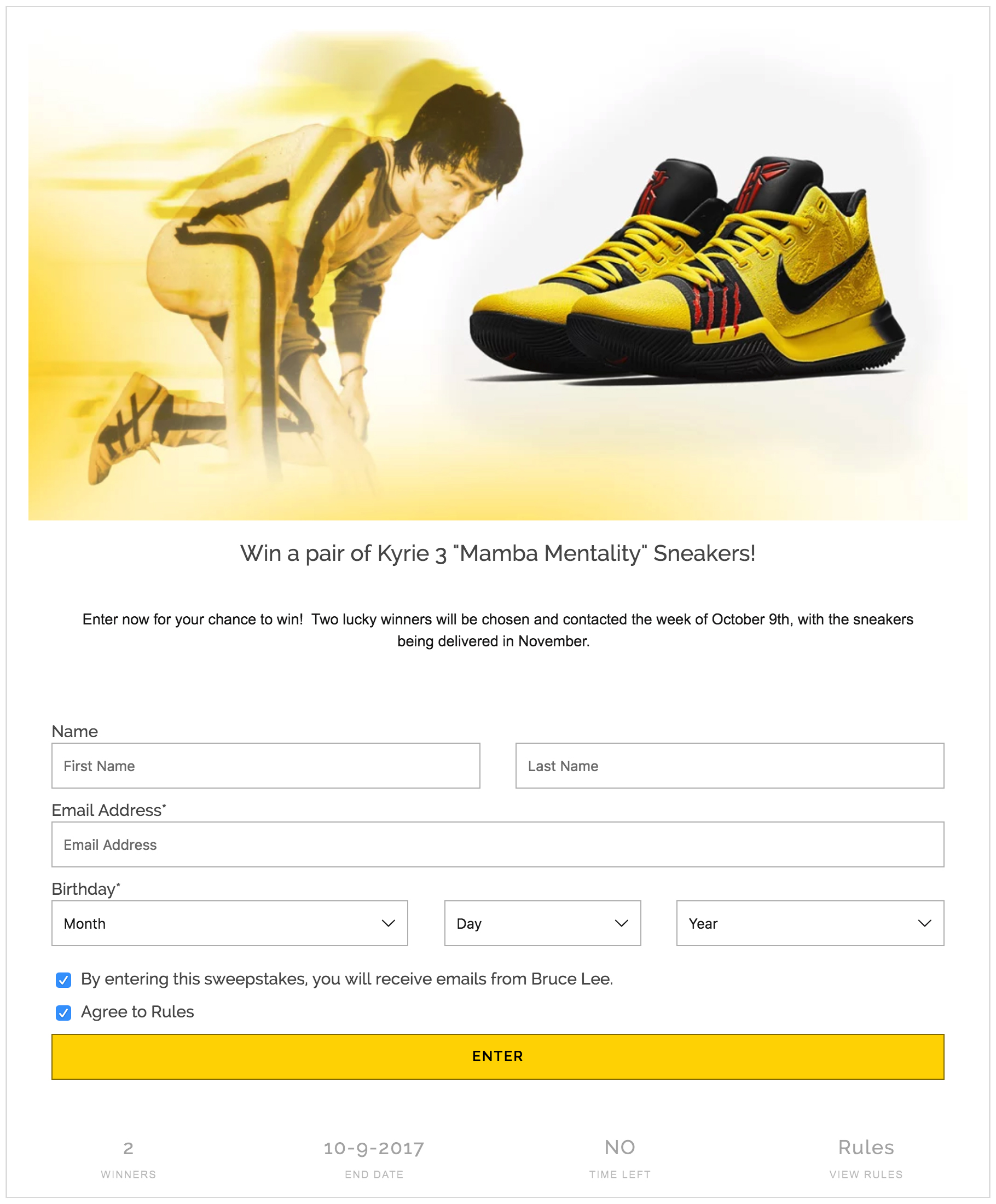 bruce lee insiders free giveaway