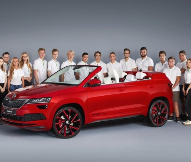 Skoda Sunroq Skoda Vocational School Students Present Fifth Concept Car
