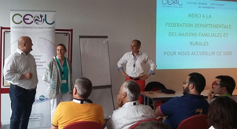 """Le club CEOL animé ce mardi 13 juin par le """"bien-être"""" au travail"""