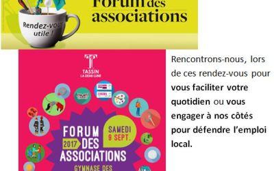 Rencontrez ICARE lors du forum des associations de votre ville.