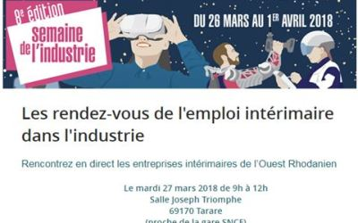 Le GROUPE ICARE participe au forum de l'emploi dans l'industrie