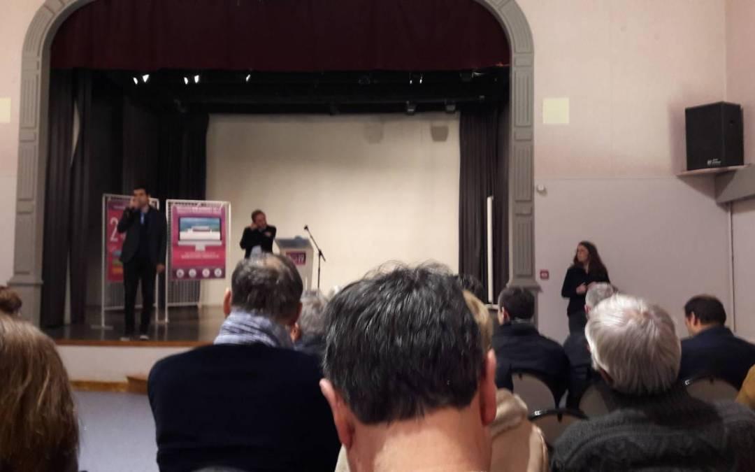 Le GROUPE ICARE, partenaire des collectivités locales, assiste aux vœux des élus du Pays de L'ARBRESLE