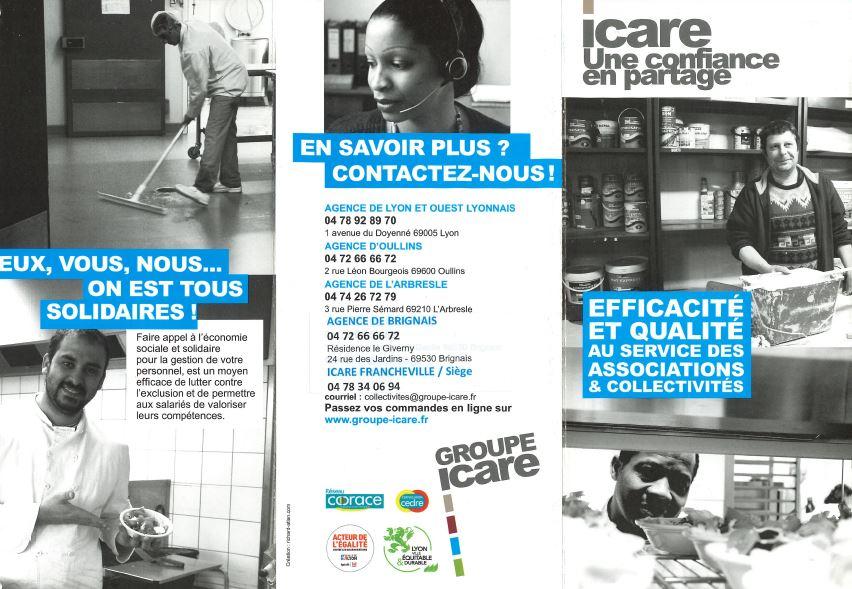 Associations, aidez l'association ICARE à favoriser le retour à l'emploi des personnes compétentes de votre territoire