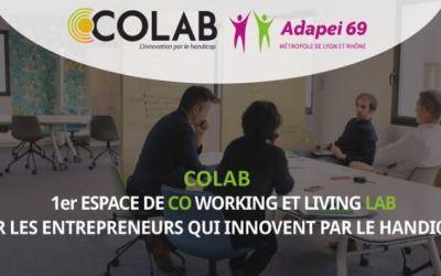 COLAB : 1er espace de coworking et living lab pour les entreprises innovantes sur le handicap