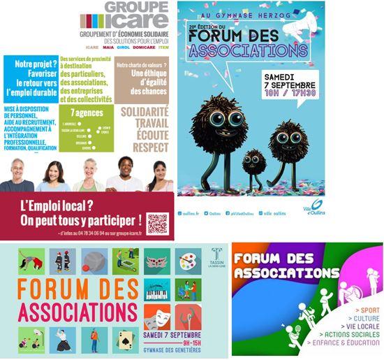 Venez à la rencontre du GROUPE ICARE au forum des associations ce 7 septembre!