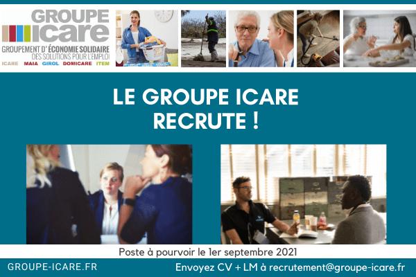 à pourvoir Le groupe Icare recrute Un.e CIP / Chargé.e de recrutement et de placement