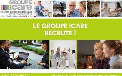à pourvoir Le groupe Icare recrute Un-e CHARGE.E DE RECRUTEMENT ET DE PLACEMENT en CDI