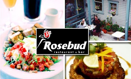 $10 for $25 Worth of Romantic Meals and Drinks at Rosebud Restaurant and Bar