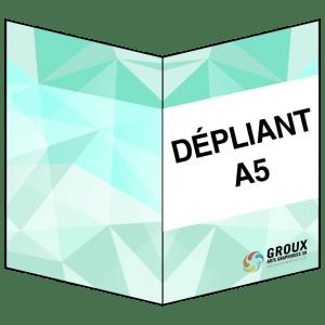 Dépliants 4 pages A5