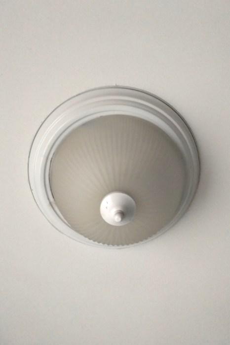 Original Hallway Light Fixture Dome Light