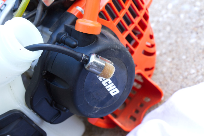 STRING TRIMMER TUNE-UP | Grove House RenoGrove House Reno