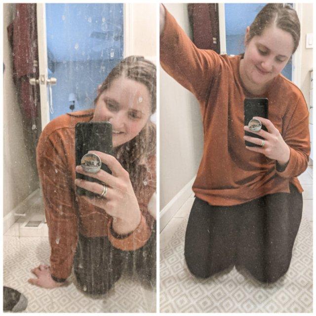 Norwex Bathroom Scrub Mitt Shower Doors Water Spots
