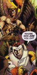 Countdown to Infinite Crisis: Rann-Thanagar War - Hawkman and Adam Strange