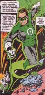 Across the Universe - Green Lantern