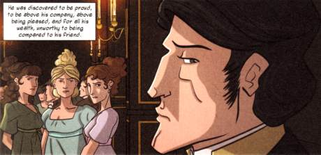 Pride and Prejudice - Mr Darcy and the Bennet sisters
