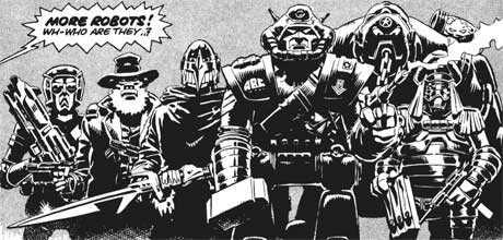 Image result for 2000ad abc warriors