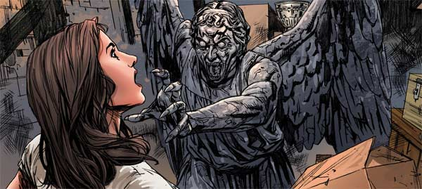 Dr Who, 10th Doctor volume 2: Gabby and a Weeping Angel
