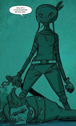 Motorcycle Samurai - the White Bolt