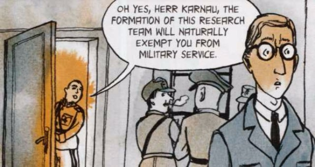 oices in the Dark - Karnau is tempted to work for the Nazis