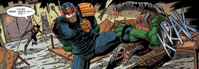 Judge Dredd kicks out in Cold Wars