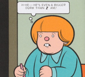 Rusty Brown, the titular principle character in Chris Ware's book