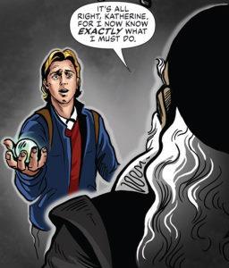 John Dee meets Sam Carter in Dark Lines of London